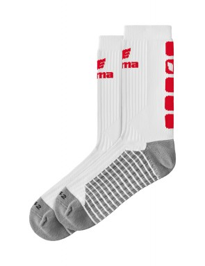 CLASSIC 5-C Socks - white/red