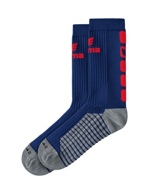 CLASSIC 5-C Socks - new navy/red
