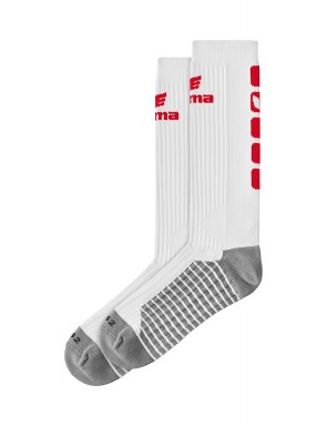 Classic 5-C Socks long - white/red