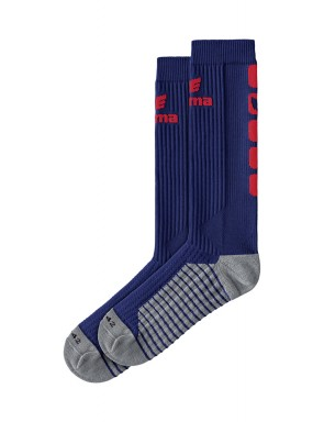 Classic 5-C Socks long - new navy/red