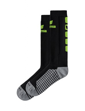 Classic 5-C Socks long - black/green gecko