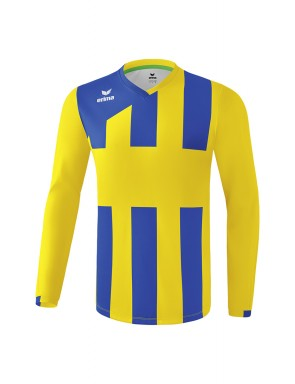 SIENA 3.0 Longsleeve Jersey - Kids - yellow/new royal blue