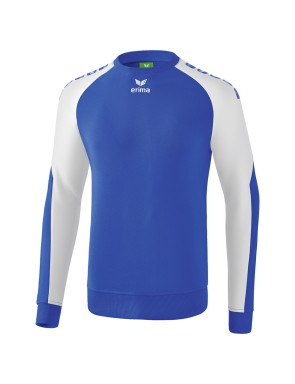 Essential 5-C Sweatshirt - Men - new royal/white