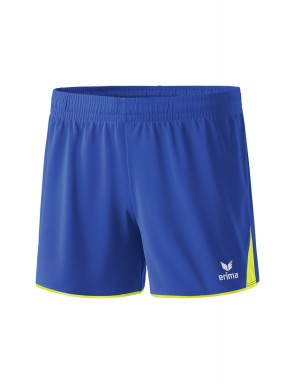 Short 5-CUBES Femmes - New Royal,Jaune fluo