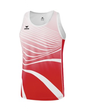 Singlet - Men - red/white