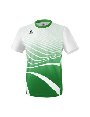 T-shirt - Men - emerald/white