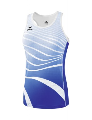 Singlet - Women - new royal/white