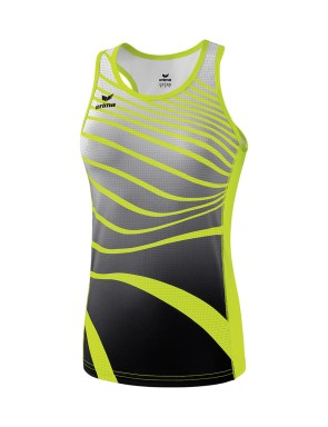 Singlet - Women - neon yellow/black