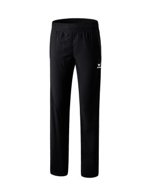 Pants with full-length zip - Women - black