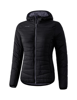Quilted Jacket - Women - black/dark grey