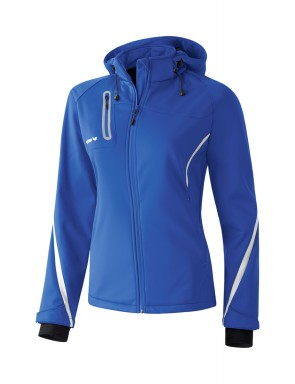 Softshell Jacket Function - Women - new royal/white
