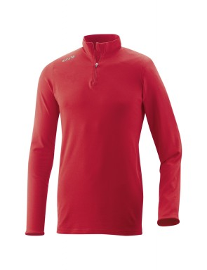 Polo Neck Jumper - Kids - red