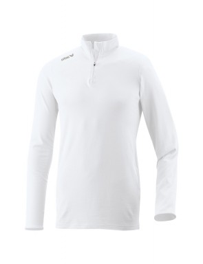 Polo Neck Jumper - Men - white