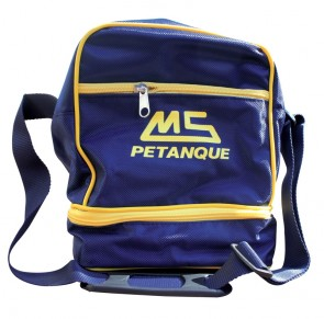 MS Petanque black bag for 3 petanque balls