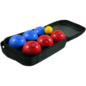 Set of 6 PVC balls - 65mm/200g