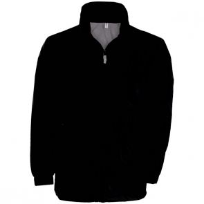 Eagle II Lined Windbreaker - men - black