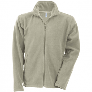 Men's Zip fleece Jacket Kariban K911-Beige