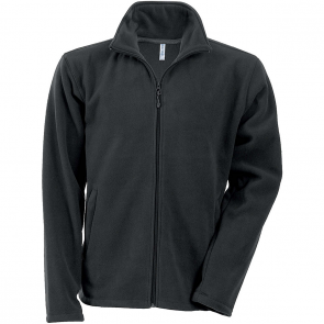 Men's Zip fleece Jacket Kariban K911-Dark-Gray-size