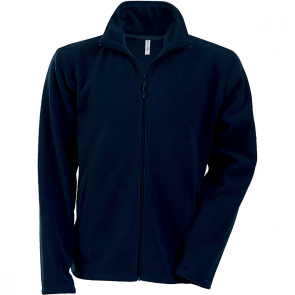 Men's Zip fleece Jacket Kariban K911-Navy