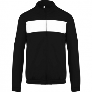 Tracksuit top - men - black/white