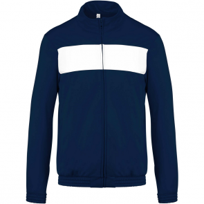Tracksuit top - men - sporty navy/white