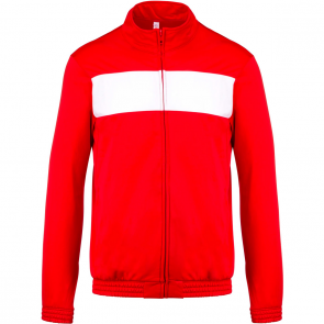 Tracksuit top - men - sporty red/white