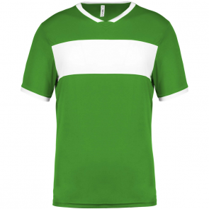 Short-sleeved jersey - men - green/white
