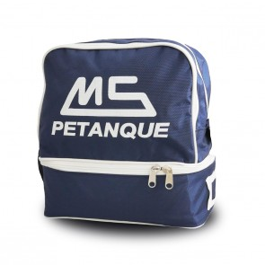 MS Petanque blue bag for 6 petanque balls