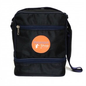 Milord bag black and orange Petanqueshop