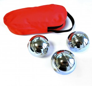 Leisure petanque set with satchel and jack to be personalized