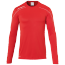 Maillot manches longues Stream 22 - Rouge/blanc - Homme