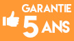 Garantie 5 ans