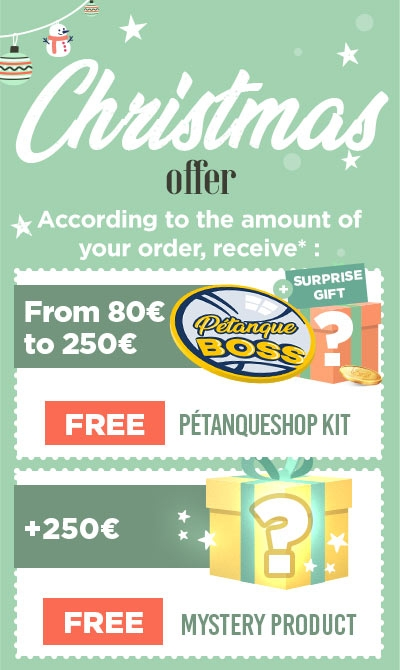 Free gifts for petanque player