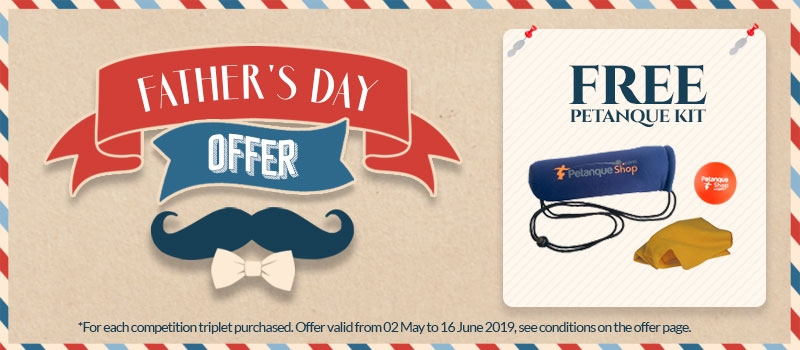 Father's day offer - free petanque gift