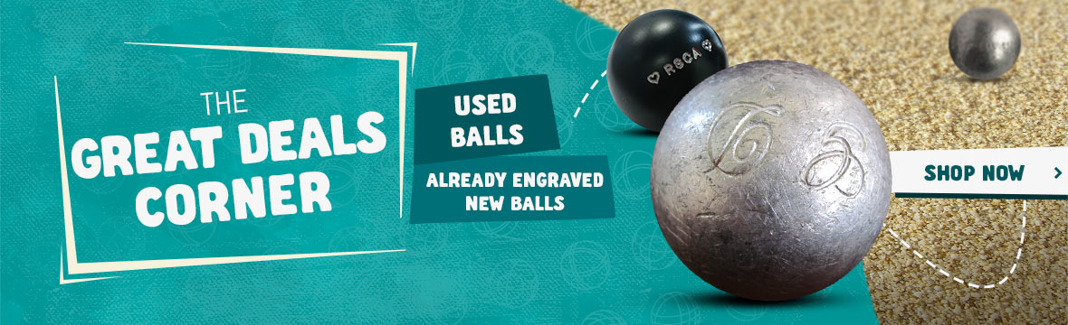 Discover our second-hand petanque balls