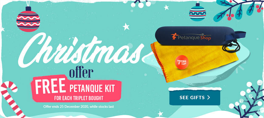 Petanque gifts for Christmas offered on PetanqueShop
