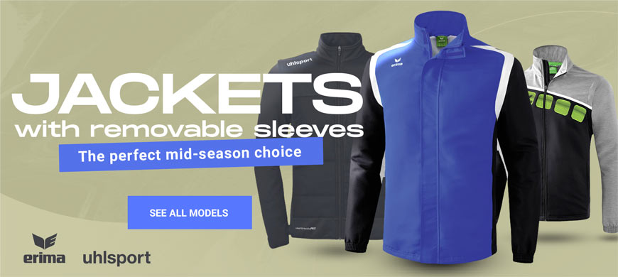Sport jackets with removable sleeves for pétanque