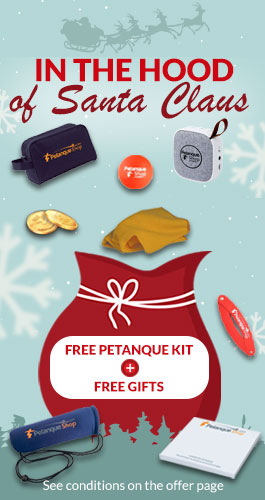 petanque gifts offered for Christmas 2019
