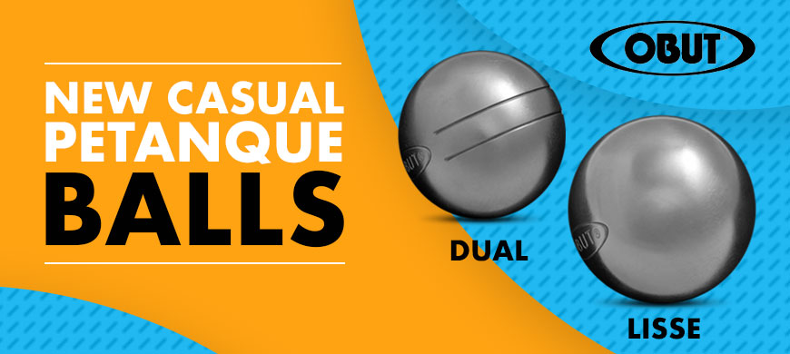 New Obut Loisir stainless steel boules for pétanque