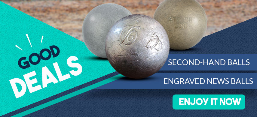 Second hand petanque balls: cheap petanque balls