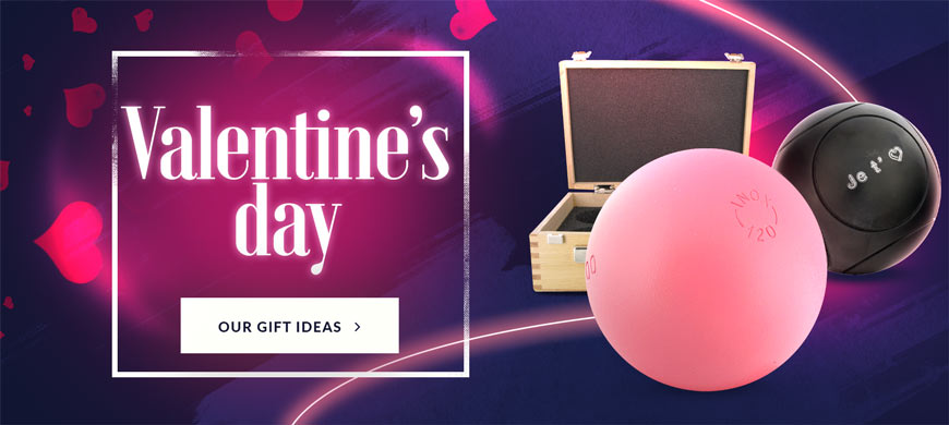 Petanque gift for Valentine's day