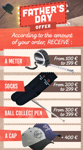 Father's Day: petanque accessories offered