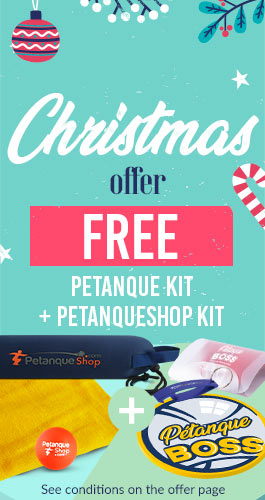 Petanque gifts offered for Christmas 2020