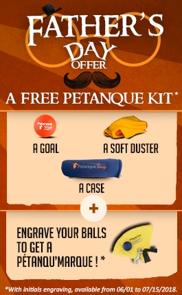 Free petanque gifts for father's day celebration