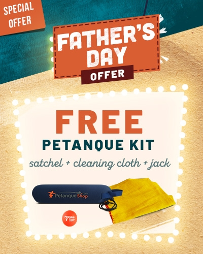 Free petanque kit for father day