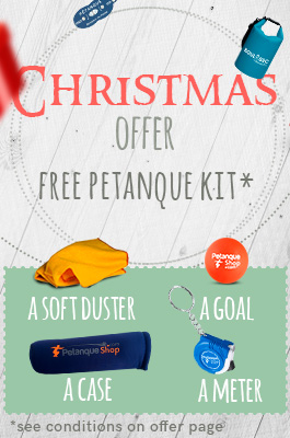 Free petanque gifts for Christmas 2018