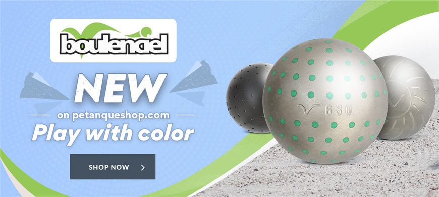 Boulenciel: stainless steel and carbon petanque balls with perfect balance